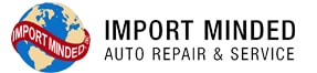 Import Minded of Plymouth Logo
